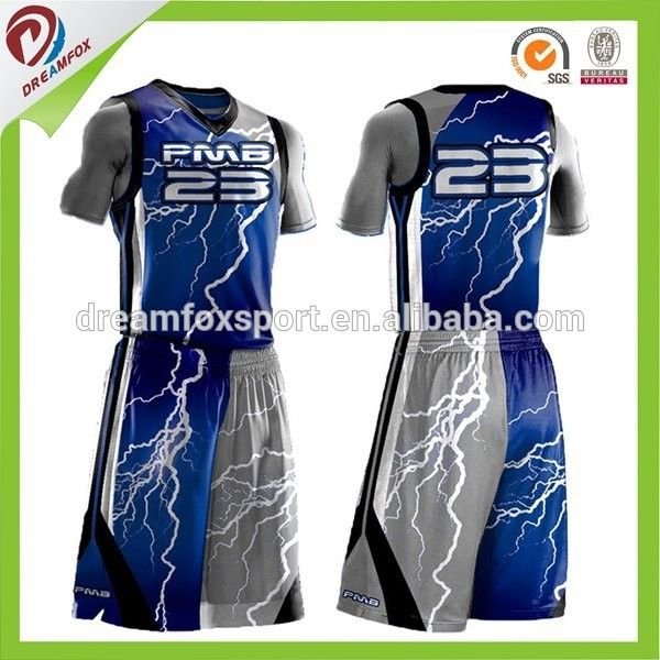 421f40120 Sublimated Custom Basketball Uniforms Design Wholesale