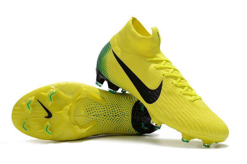 f4275613c887b Nike Mercurial Superfly 6 Elite FG Zapatillas de Fútbol - Amarillo Negro