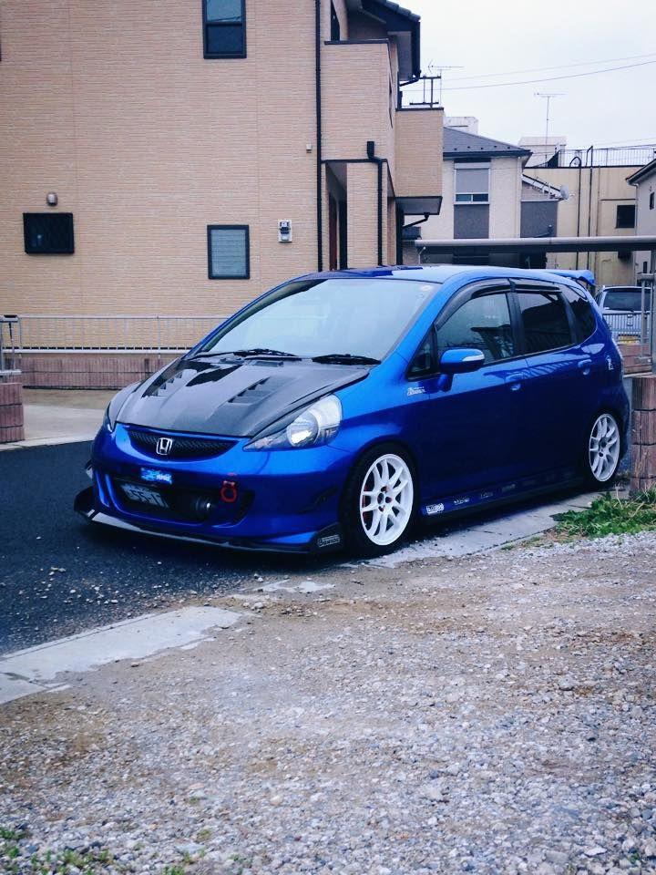 Honda Fit Honda fit, Honda fit custom, Honda fit sport