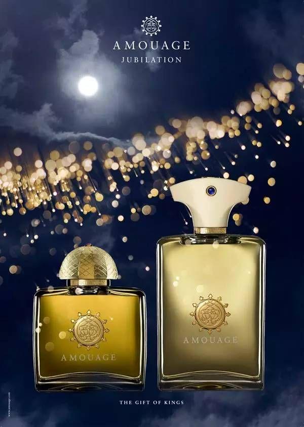 Amouage Jubilation Perfume Ad Turin Sanchez Creed Parfum