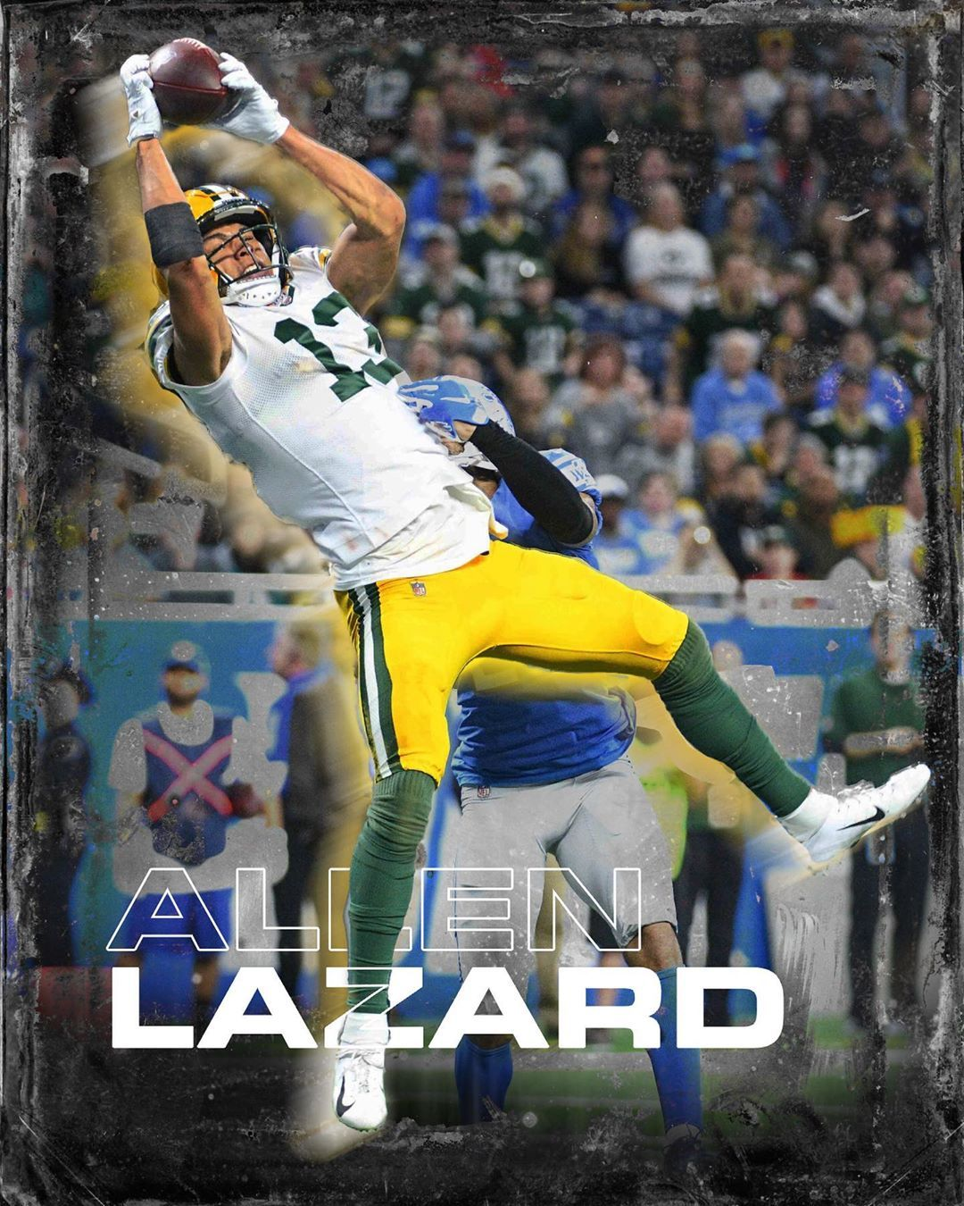 Green Bay Packers Fanpage On Instagram How Many Receiving Yards Will Allen Lazard Have This Year For More Packer In 2020 Green Bay Packers Green Bay Packers