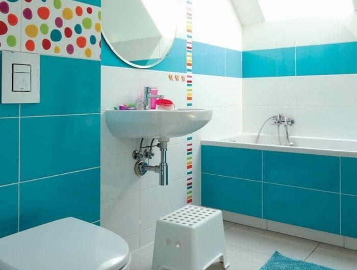 ▷ 1001+ designs uniques pour une salle de bain turquoise ...