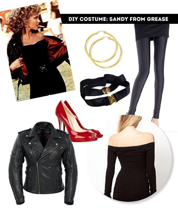 DIY 8 thrifty halloween costume ideas Pinterest Halloween - greaser halloween costume ideas