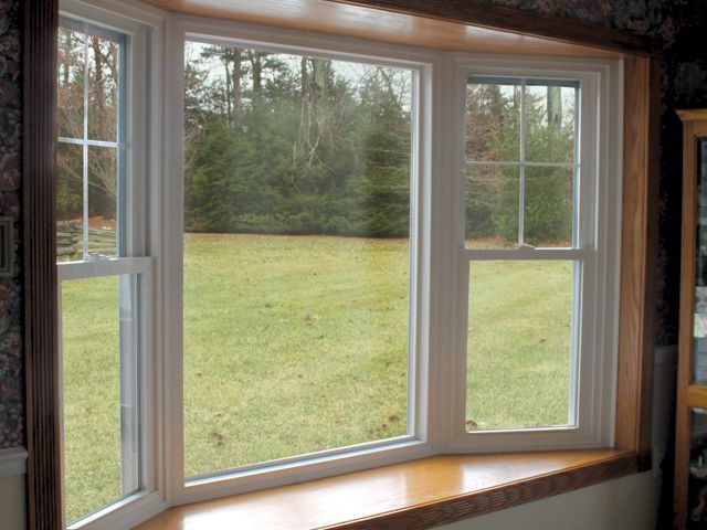 Window type new constructionstyle quot bay double hung