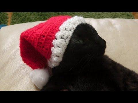 Weihnachtsmütze häkeln | WEIHNACHTEN häkeln/ crochet christmas ...