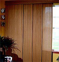 Panel Track Blinds Considering For Sliding Glass Door