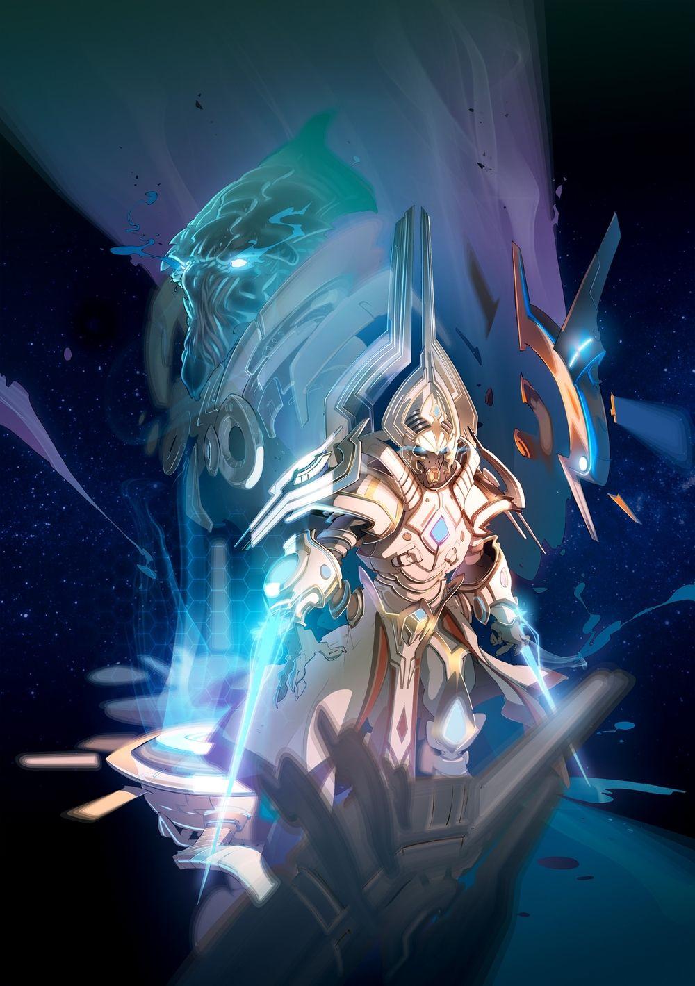 Blizzard Entertainment   Starcraft II   Edouard Guiton   Emanuele