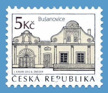 Die Tschechische Post gab am 19.12.2012 eine Freimarke zum Thema Volksarchitektur heraus: http://sammler.com/bm/tschechien-neuausgaben.htm#19.12.2012