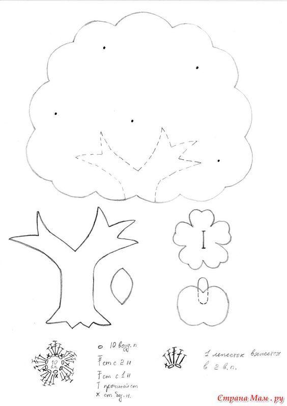 molde quiet book apple tree page quiet book pinterest