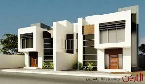 نتيجة بحث الصور عن واجهات دبلكسات حديثة House Styles House Mansions