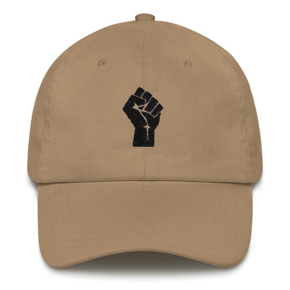 bfe967e321 Black Power Fist Dad hat