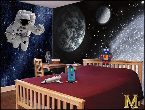 Space And Astronomy Wall Murals Space Themed Room Space Themed Bedroom Bedroom Themes