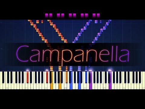 La Campanella Liszt Youtube Liszt Best Piano Learn Piano
