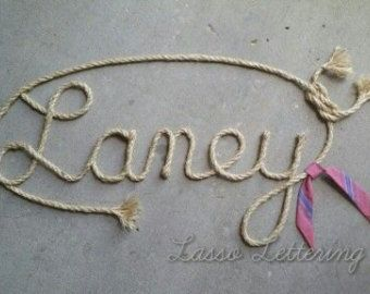 5 LETTER Name WesternNautical  Rope Name Art