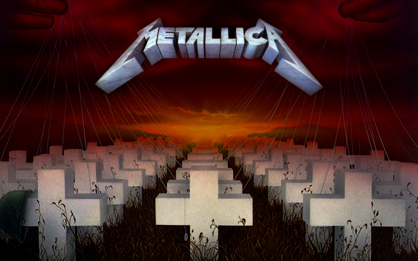 Master of Puppets Wallpaper Master of puppets, Metallica