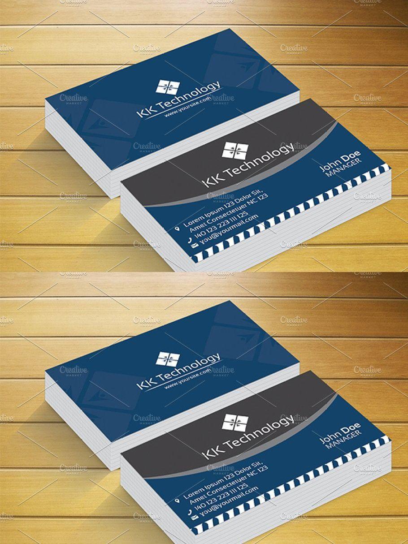 Kk Technology Business Card Business Cards Business Technology