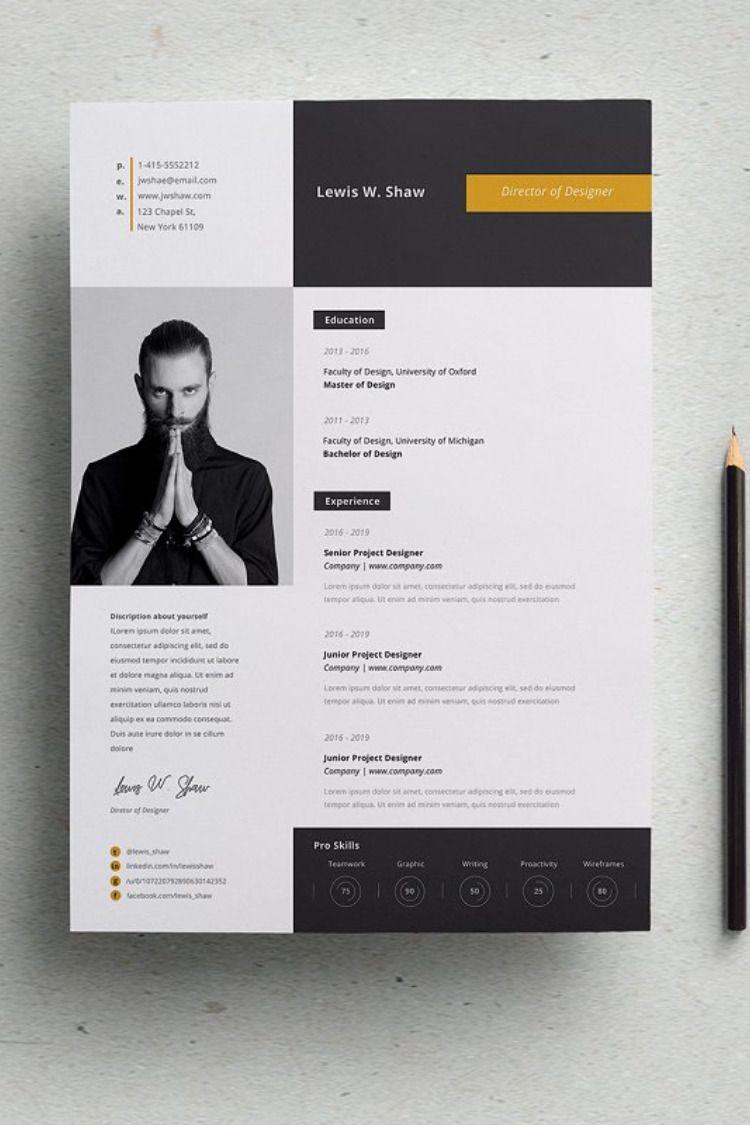 Delta Resume Template Cv Kreatif Desain Resume Desain Cv