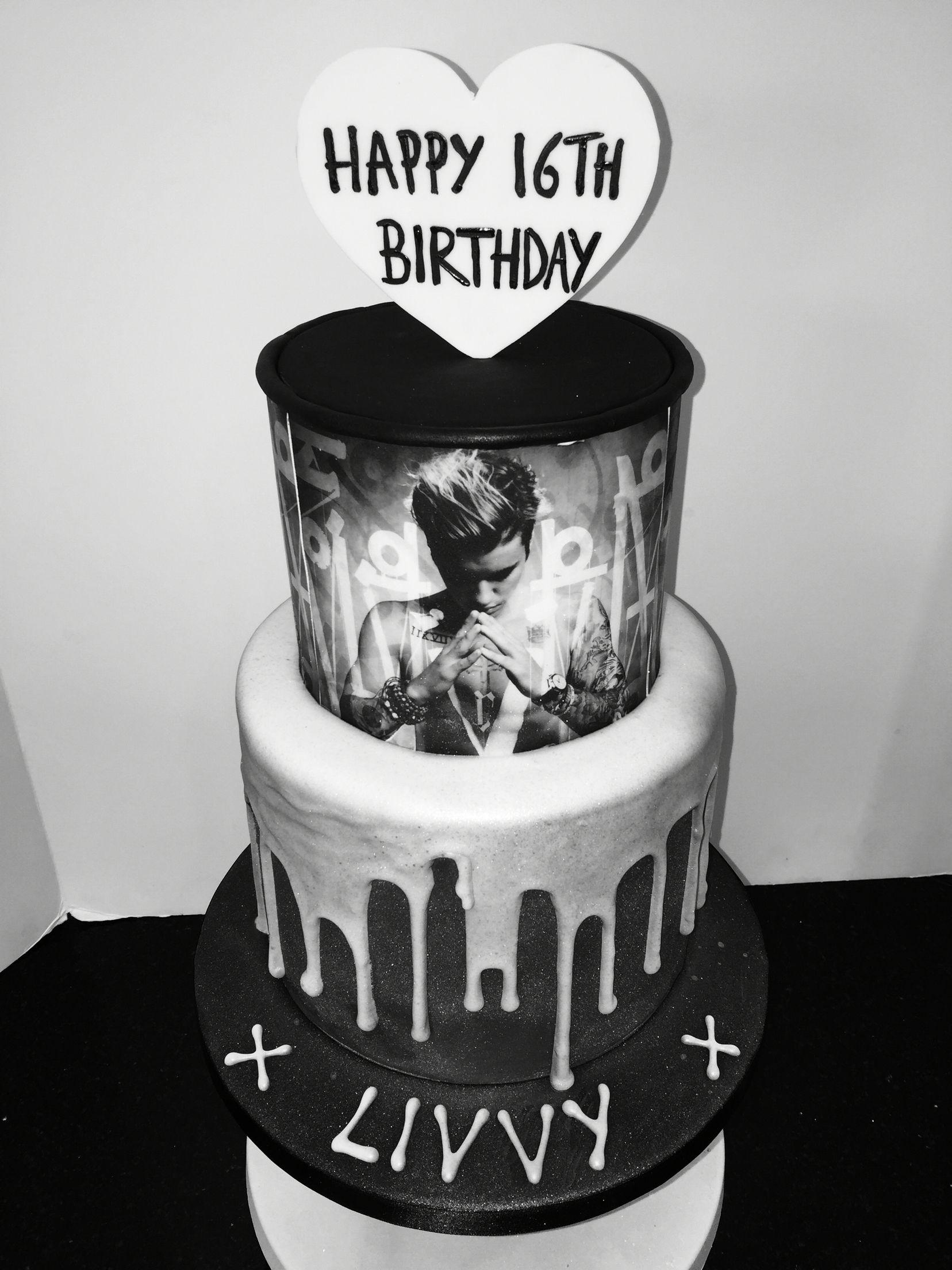 Justin bieber scrapbook ideas - Justin Bieber Birthday Cake Twenty One Pilots Would Be Waay Better