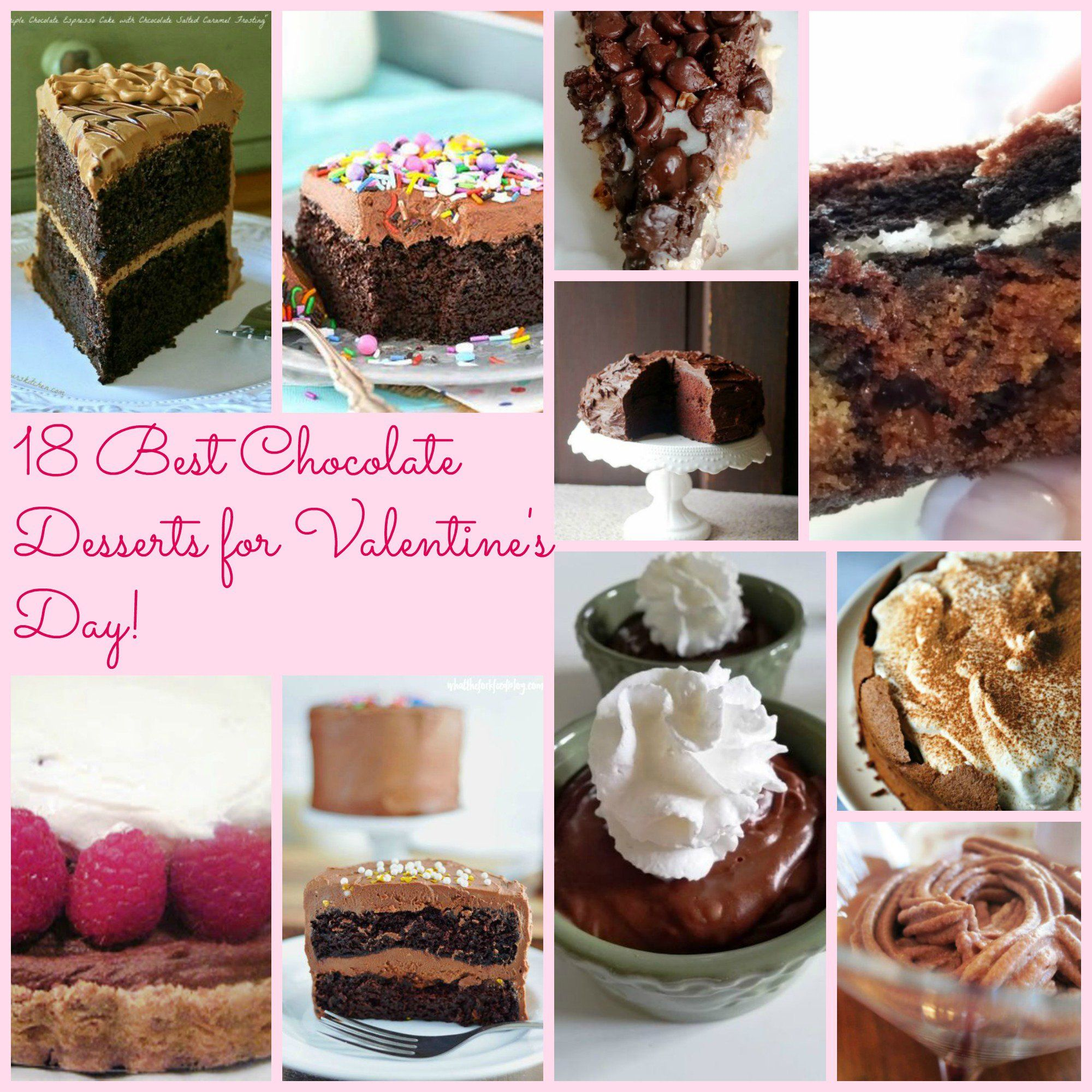 18 Best Chocolate Desserts For Valentines Day!