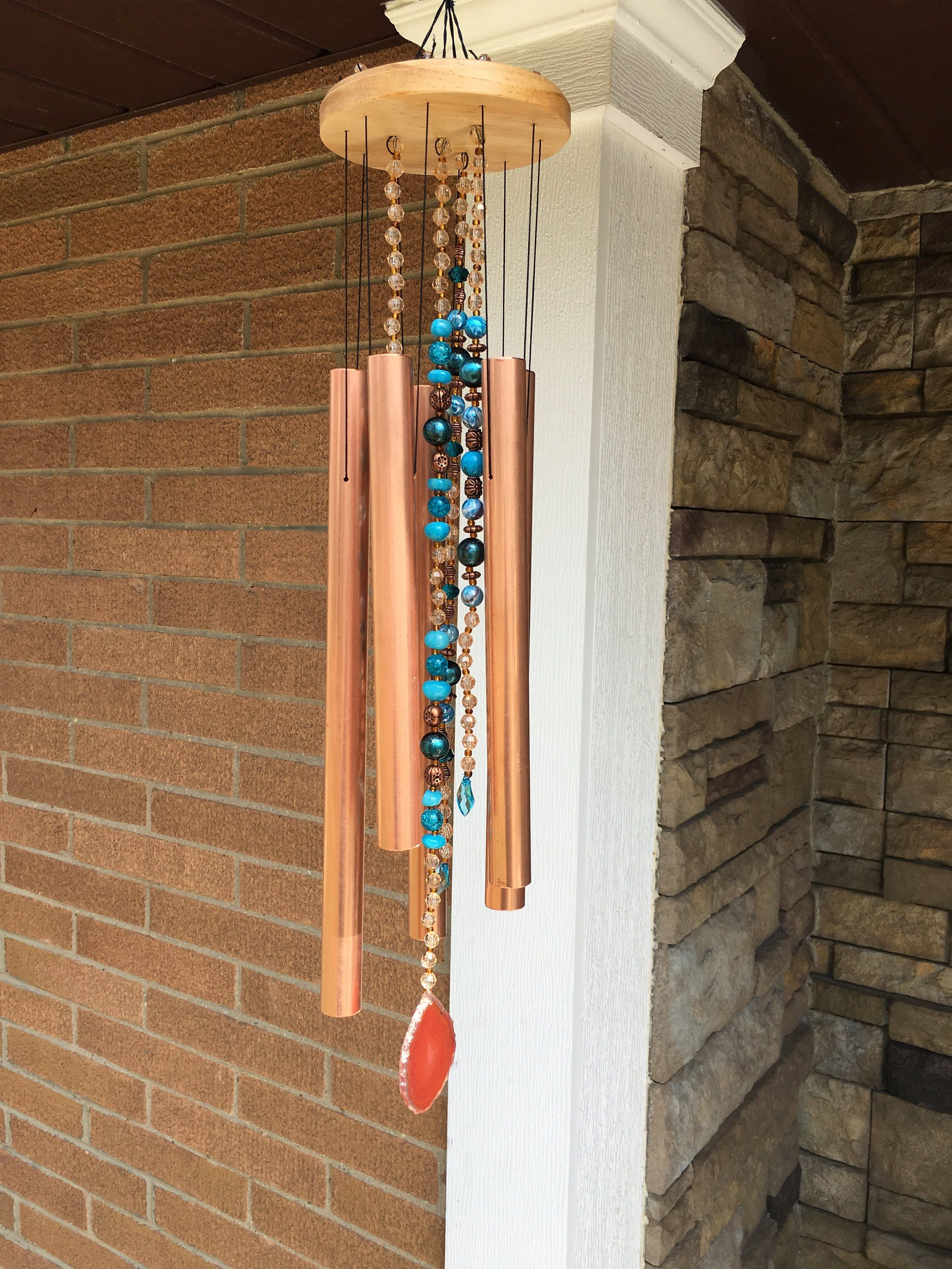 Turquoise Woodstock Chime