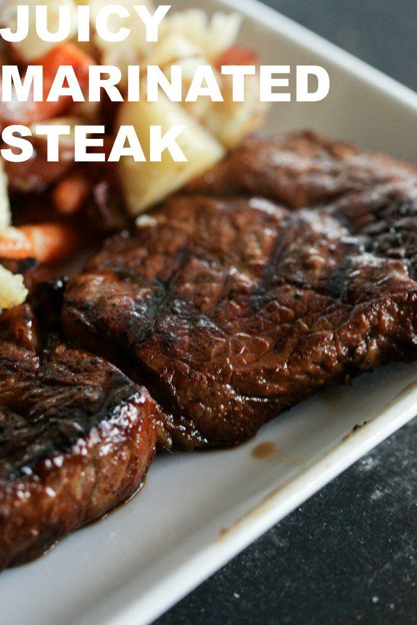 Juicy Marinated Steak Recipe