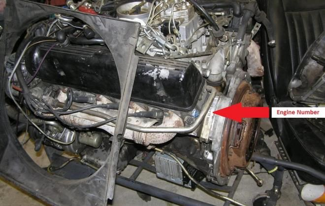 Mercedes R107 560SL Engine number location | Mercedes | Mercedes