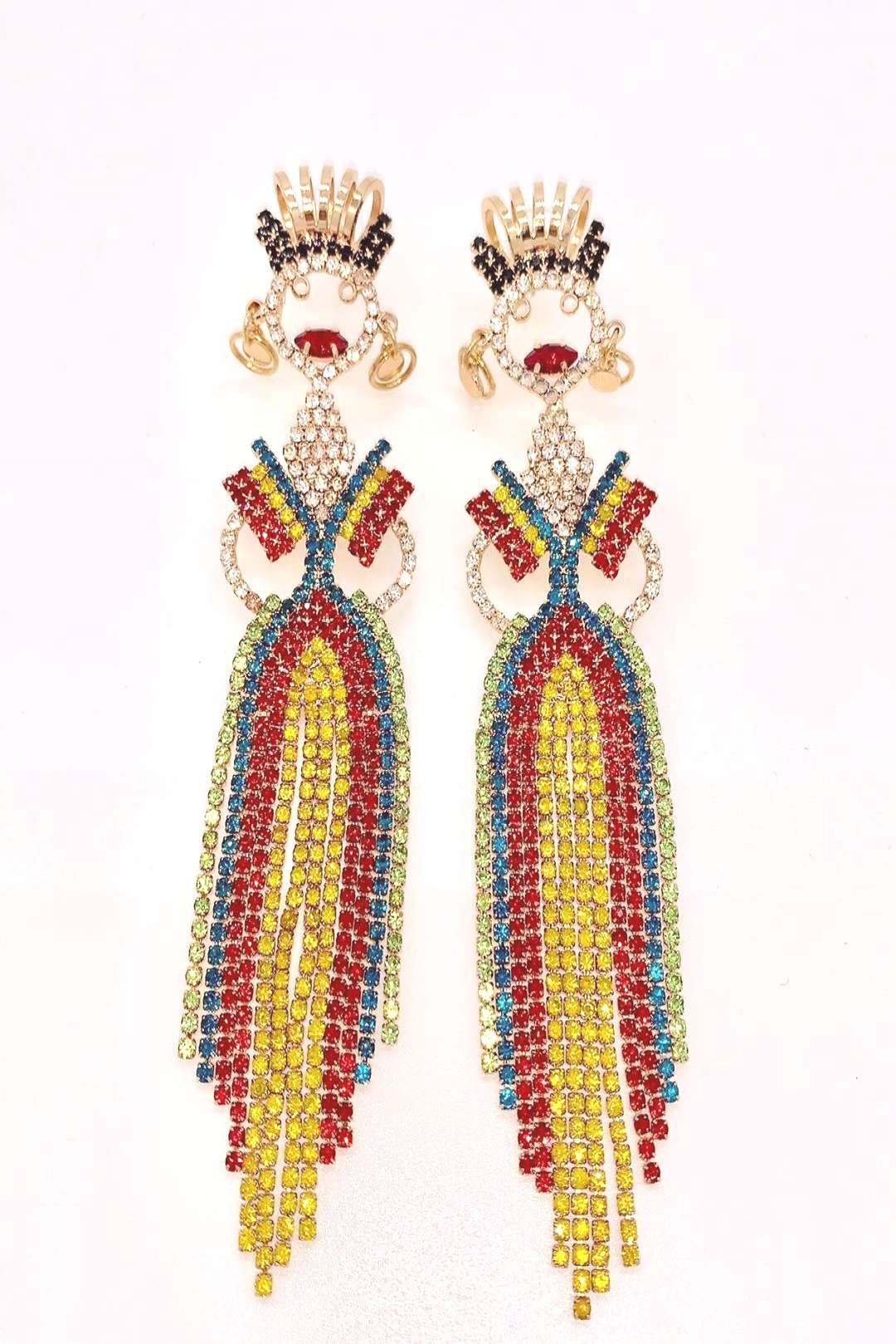 #randomluxe #earrings #february #tuesday #perfect #louise #152020 #ready #mardi #photo #whos #gras #for #fat #by Whos ready for Fat Tuesday LOUISE earrings perfect for Mardi GrasYou can find Chic fash...