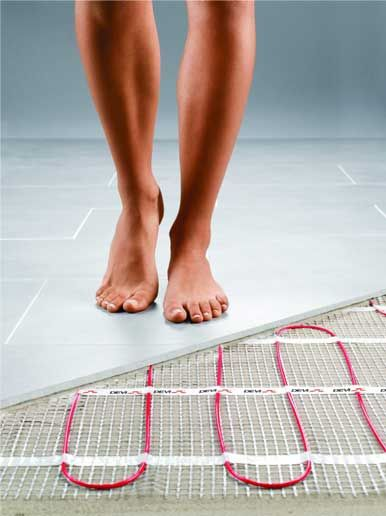 Photo of Install Heated Flooring for Less than What You'd Expect!