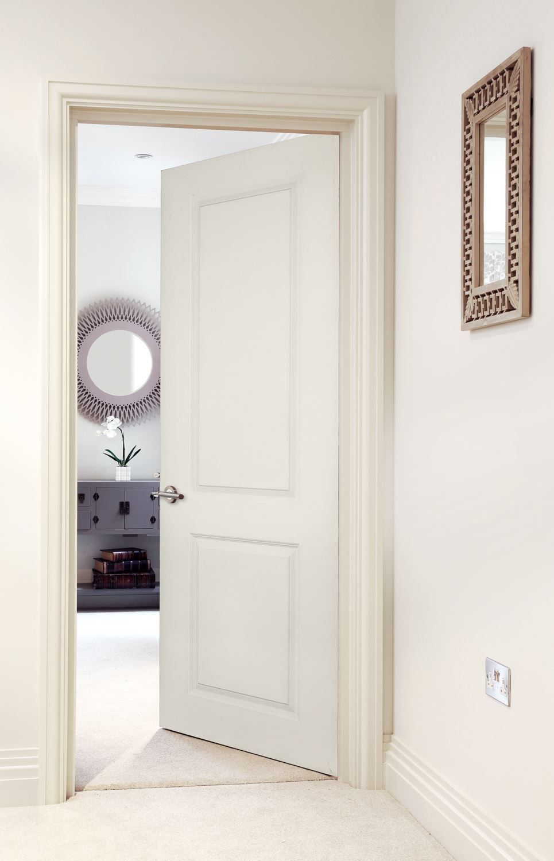 2 Panel Smooth Solid Core Wood Doors Interior Internal Doors Doors Interior