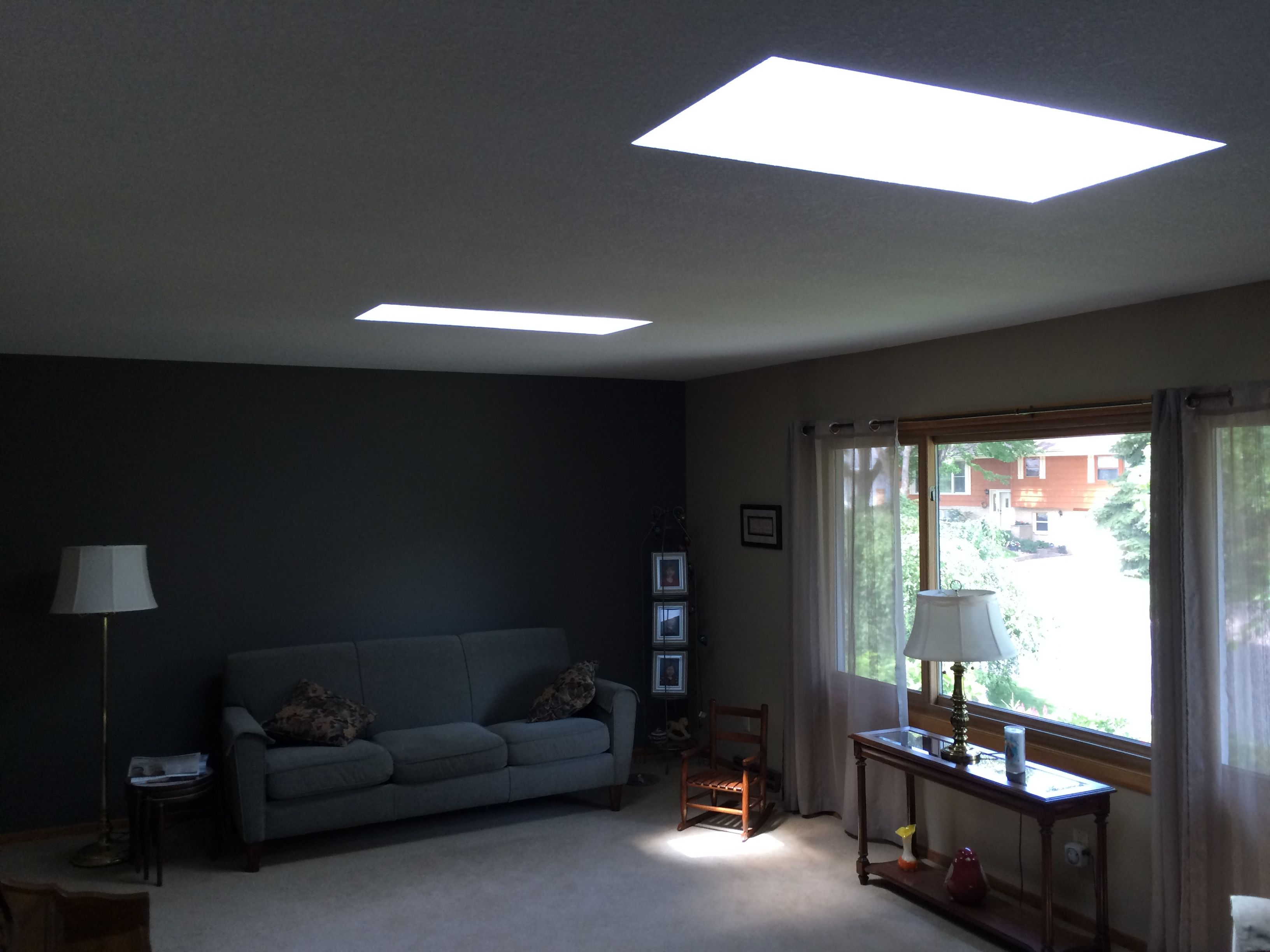 By Opening Up A Low Ceiling Or A Small Room,