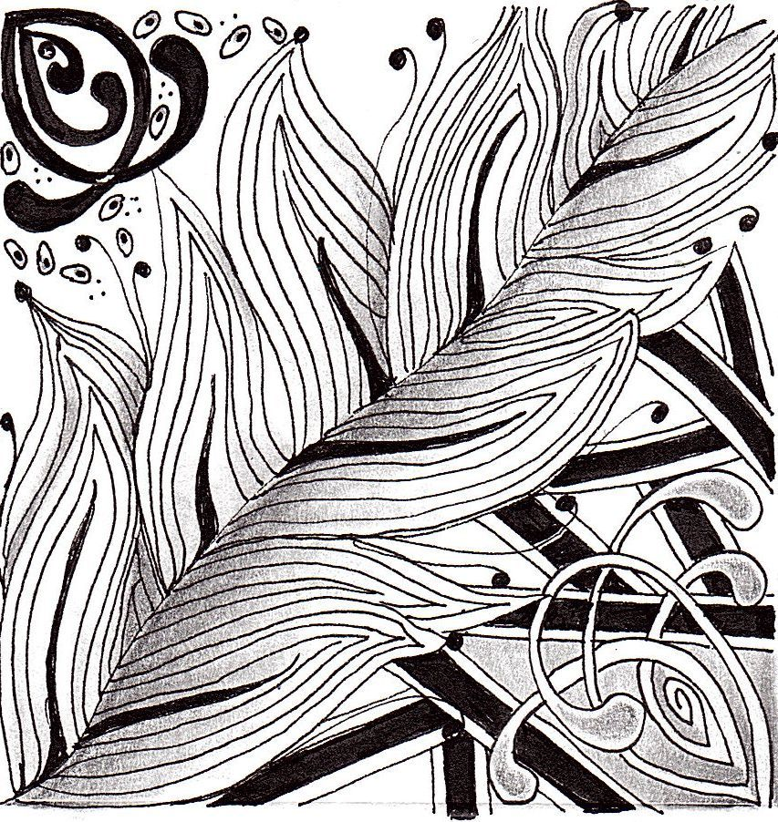 Zentangle Pattern Ideas | Untangle your Thoughts as you Zentangle with us – for Families