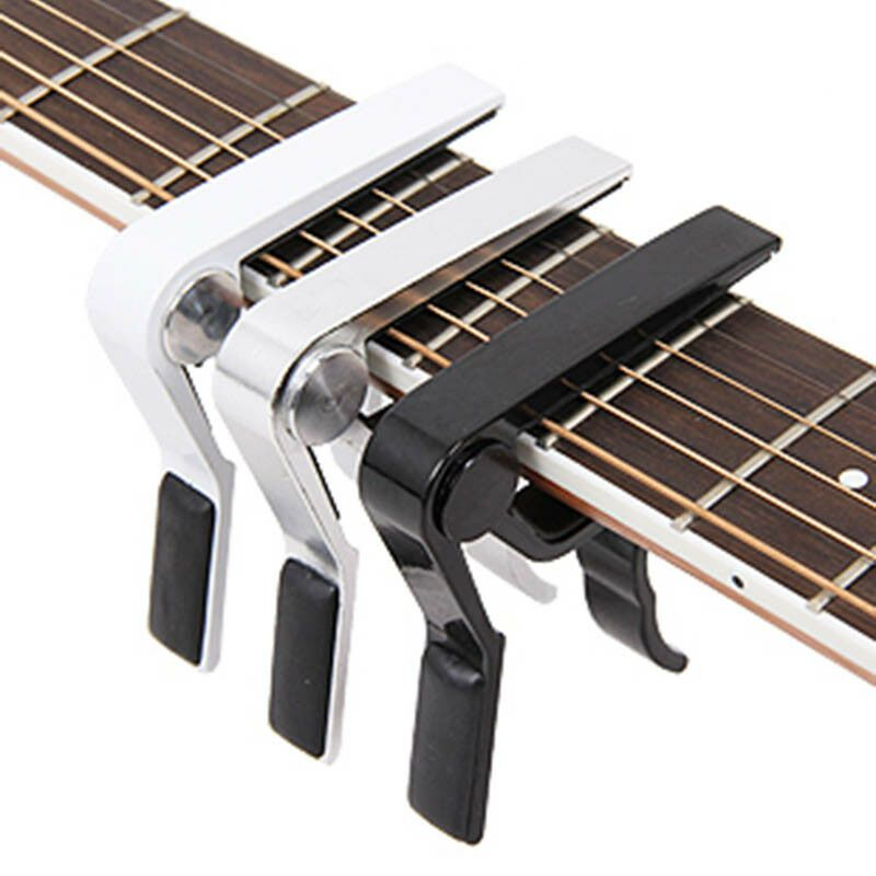 Details About Metal Guitar Capo For Acoustic Electric Classic Trigger Change Tune Key Clamp Guitar Capo Acoustic Electric Acoustic Guitar Capo
