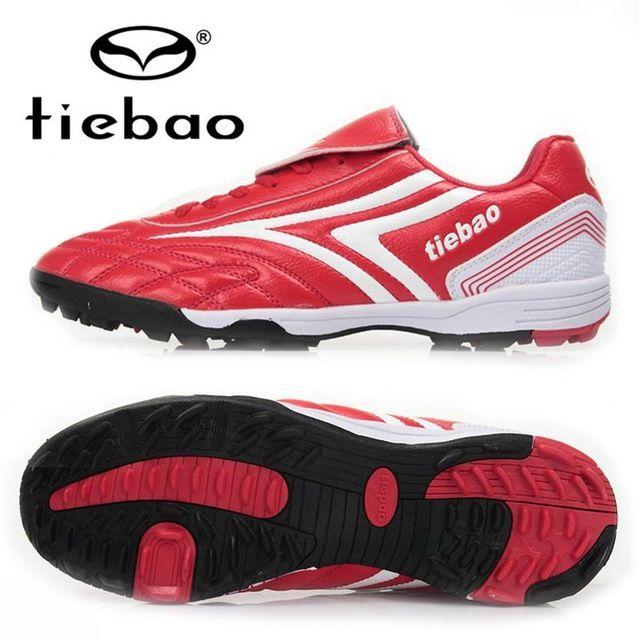 364f2ddd1 Profesionales TIEBAO zapatos de fútbol al aire hombres mujeres botas de  fútbol TF Turf de goma suela Ttaining chuteira futebol