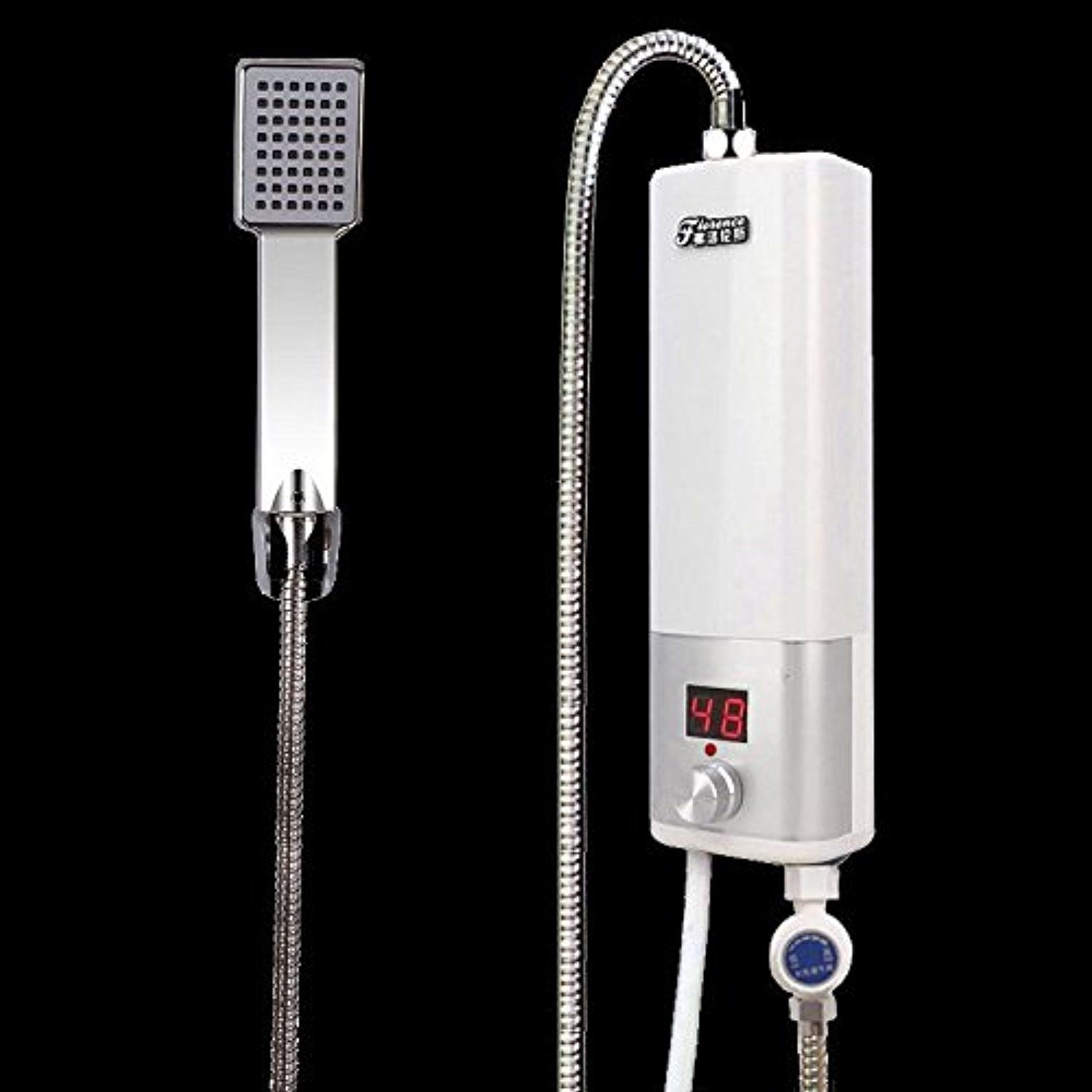 Tankless Electric Instant Hot Water Heater Bathroom Portable Shower System  240V    Awesome Products Selected