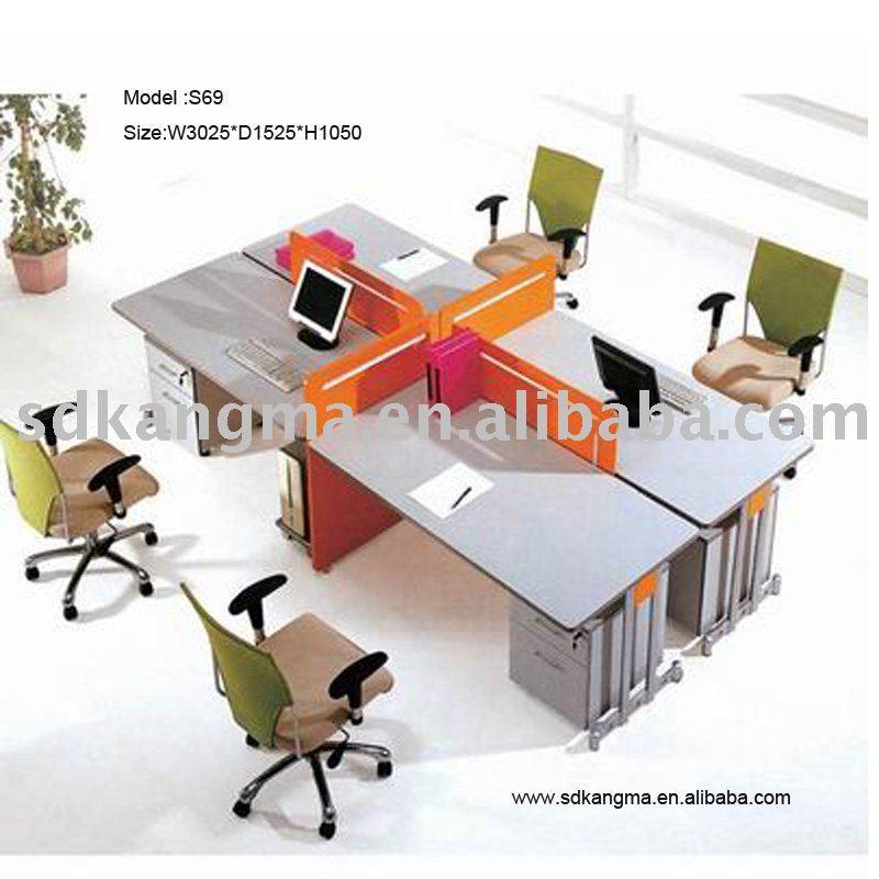 4 Person Office Desk Google Search