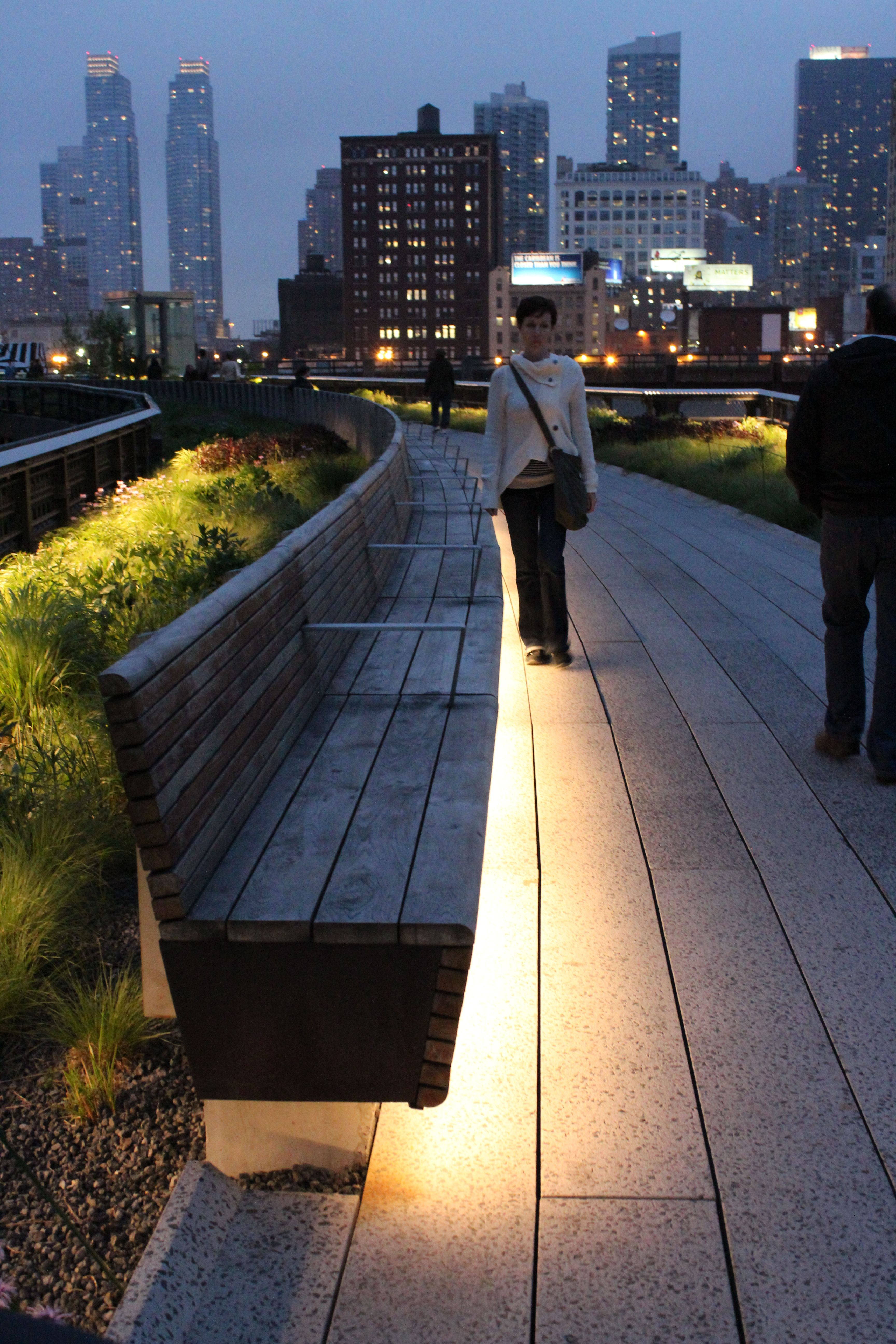 High Line Nyc. In Summer