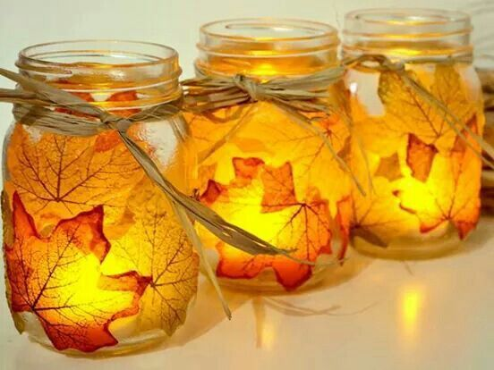 30 Pretty Candle Decoration Ideas for Thanksgiving & 30 Pretty Candle Decoration Ideas for Thanksgiving | Candle ...