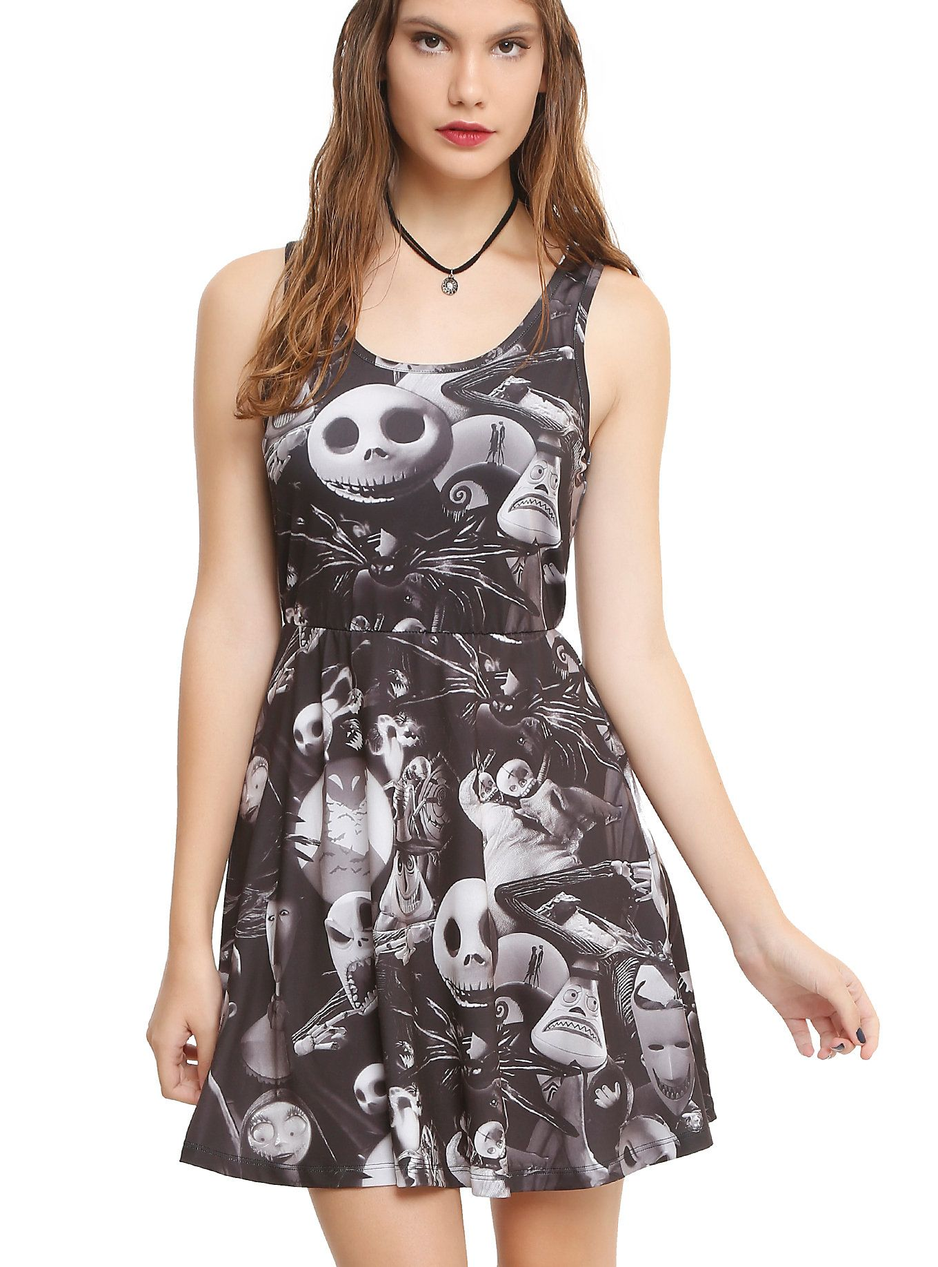 Hot Topic Nightmare Before Christmas Dress.The Nightmare Before Christmas Characters Dress Hot Topic