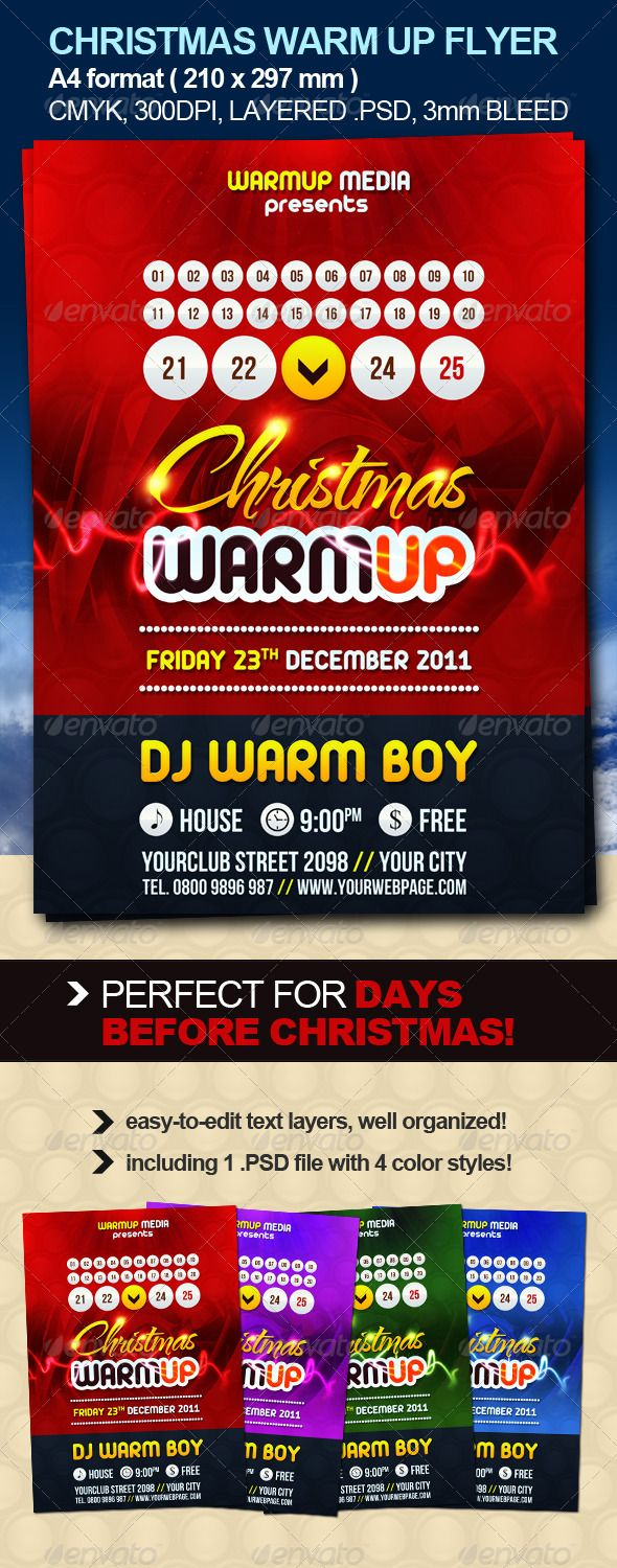 christmas warm up party flyer warm poster prints and ecommerce christmas warm up party flyer graphicriver christmas warm up party flyer is ideal choice for