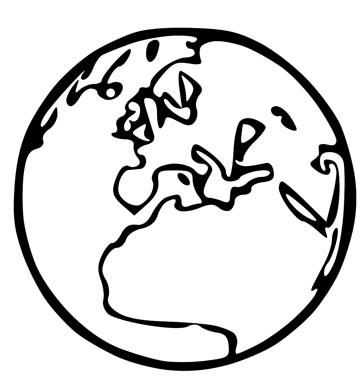 free lds clipart to color for primary children lds clipart earth rh pinterest com au