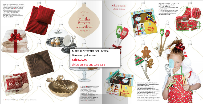 From Martha Stewart S Christmas Online Catalog I Love How The Tear