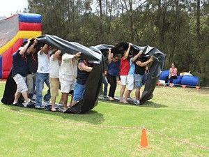 Outdoor Team Building Camp Pinterest Juegos Campamento Juegos