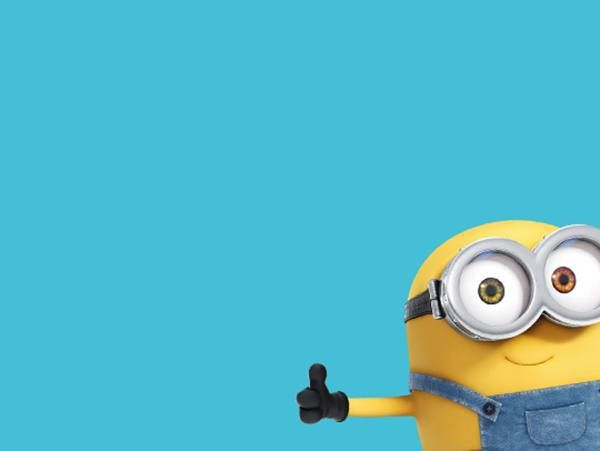 Minion Kissing Camera : Thumbs up minion oh minions my minions minions