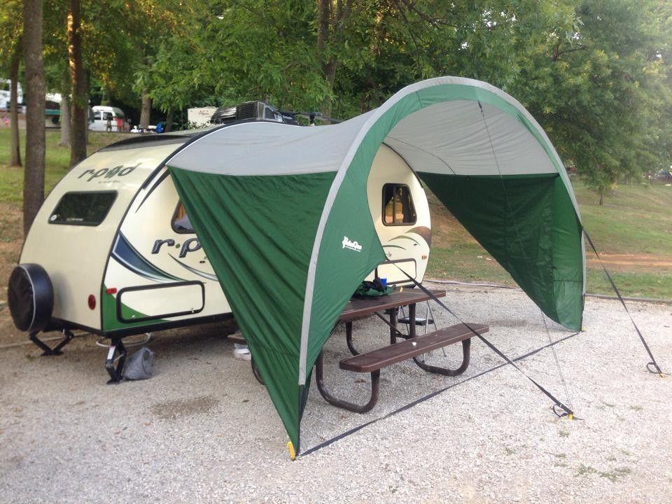 R Pod Trailer Awning By Pahaque Fits All Models Vintage Camper R Pod Pod Camper