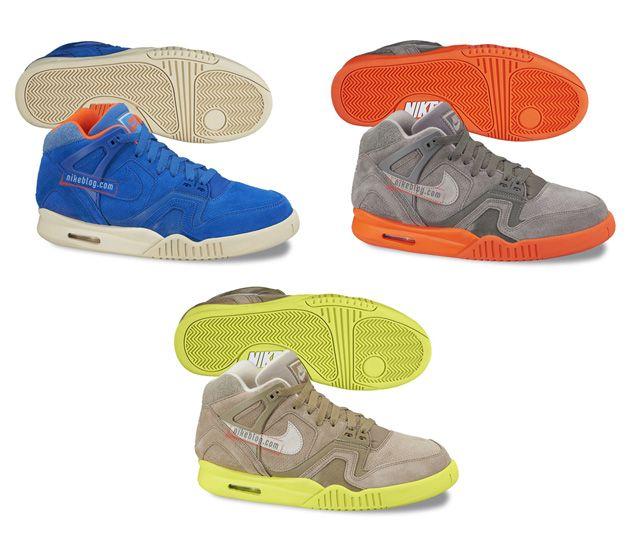 Nike Air Tech Challenge II-Suede Pack (2014) Zajawka