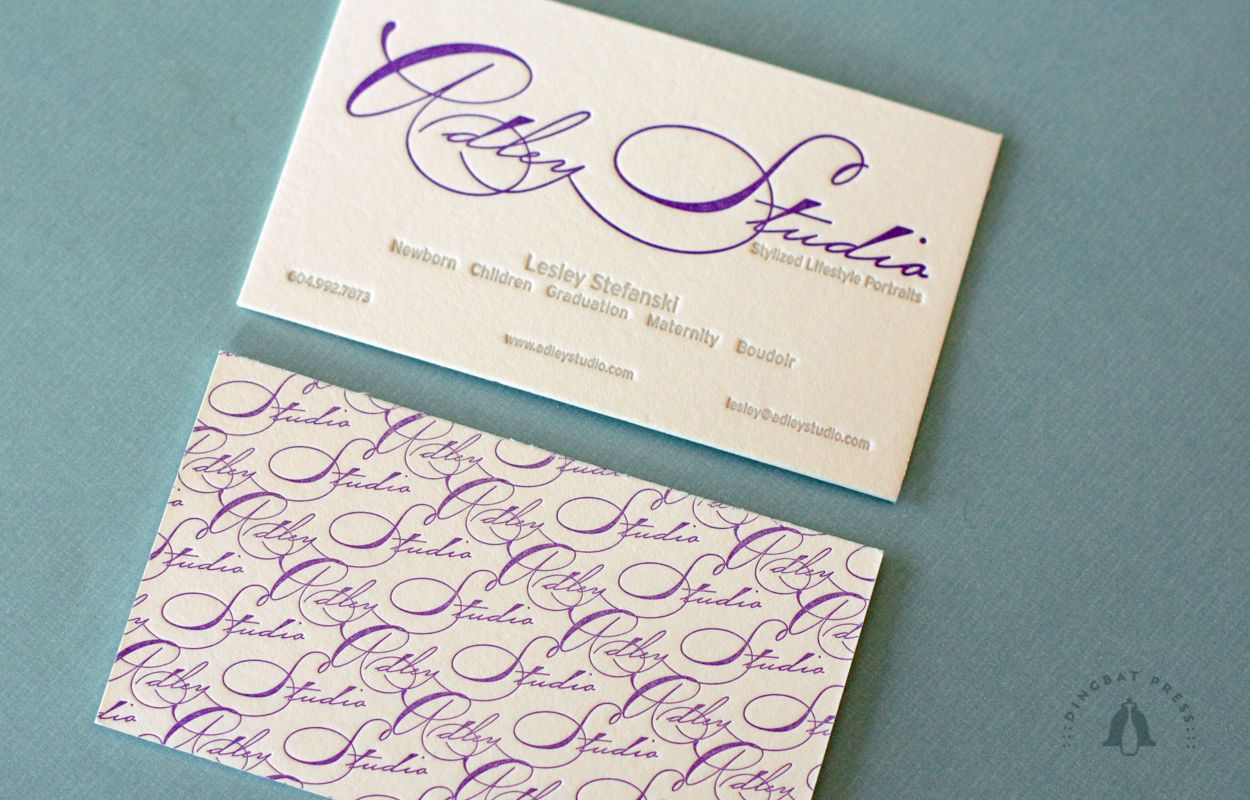 Calligraphy Business Card | Identity Design | Pinterest | Business ...