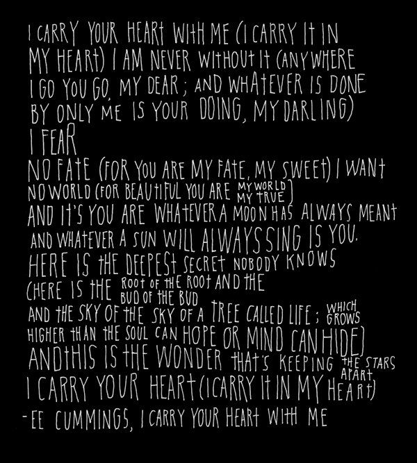 EE Cummings Poem