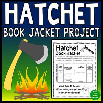 Hatchet Project Create A Book Jacket Hatchet Book Report Activity Hatchet Book Hatchet Book Report Book Report