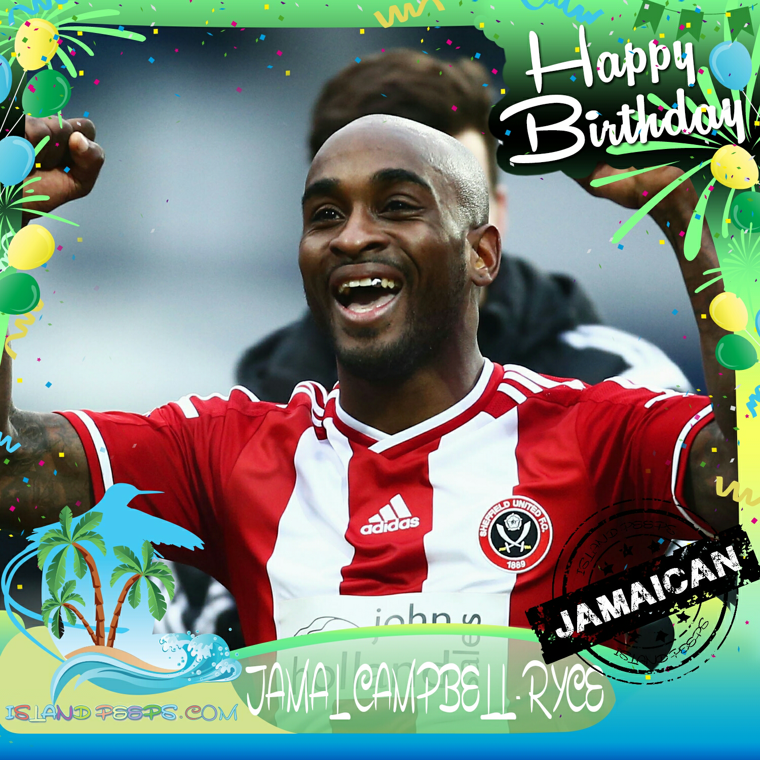 Happy Birthday Jamal Campbell Ryce English Born Soccer Player Of Jamaican Descent Today We Celebrate You Jamalcampbe Sheffield United Soccer Players Soccer