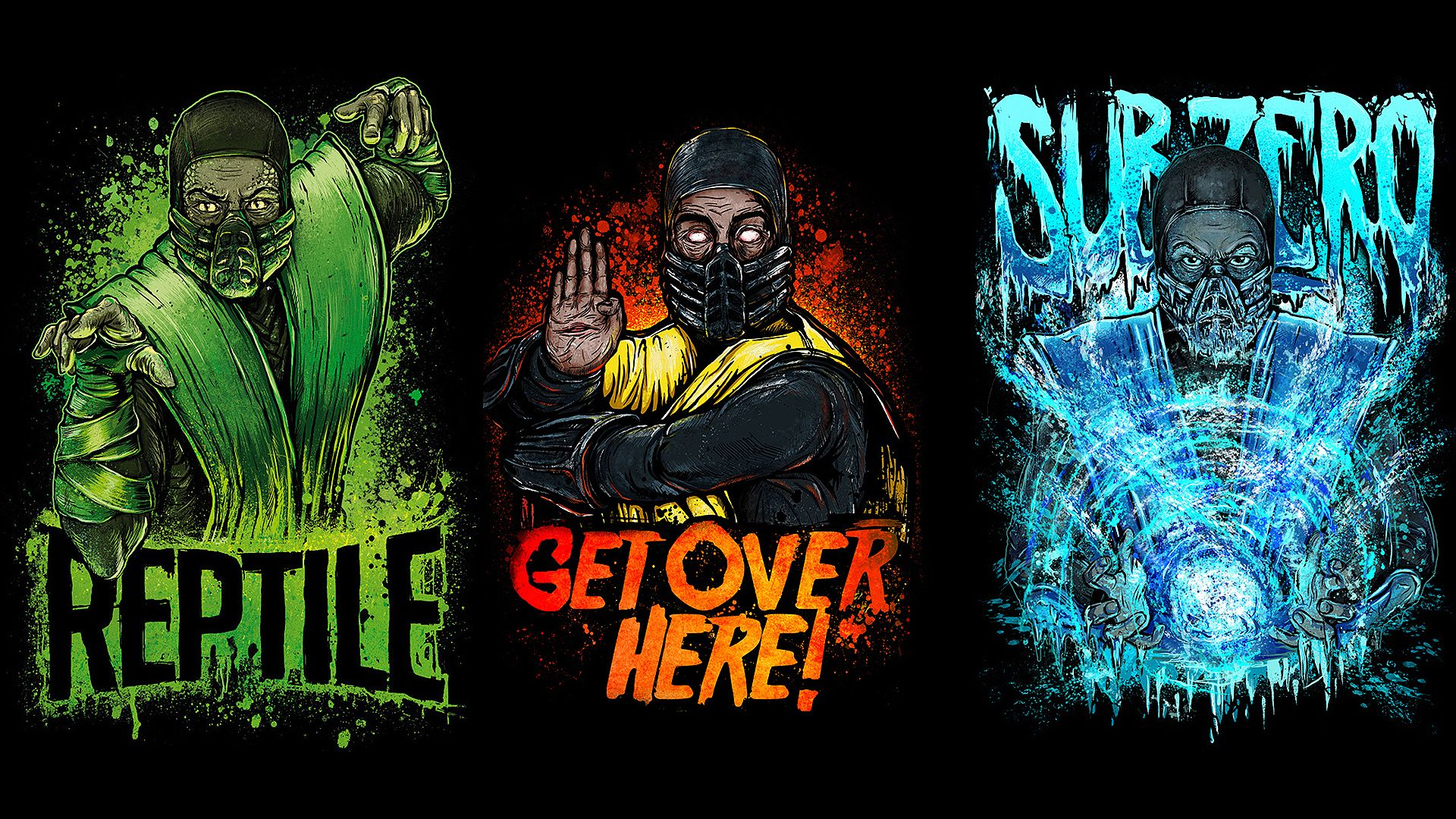Mortal Kombat Wallpapers for Iphone 7, Iphone 7 plus
